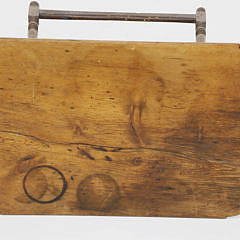 American Cherry and Pine Tavern Table, circa 1770