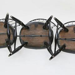 3 Warren Chair Works Fan-back Windsor Side Chairs