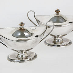 13-3104 Pair Silver Plate Sauce Dishes A_MG_8348