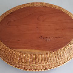 Susanne Loveland Contemporary Nantucket Basket Serving Tray
