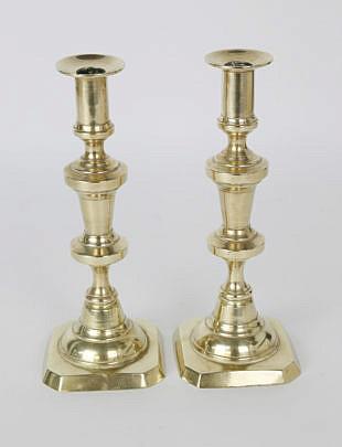 1461-54 Brass Pushup Candlesticks A_MG_8628