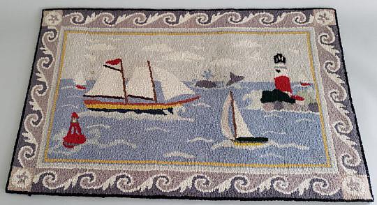 15-4820 Claire Murray Nautical Rug A