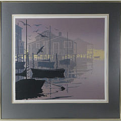 """Donn Russell Limited Edition Lithograph """"Vespers"""""""