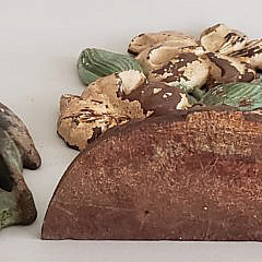 Four Antique Hubley Cast Iron Figural Doorstops