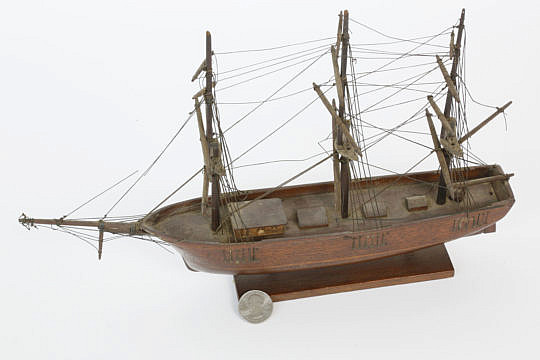 189-4817 Miniature Ship Model A_MG_8398