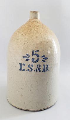 2393-955 Stoneware Jug A