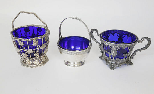 27824 Silver Plate Cobalt Lined Baskets A_MG_8353