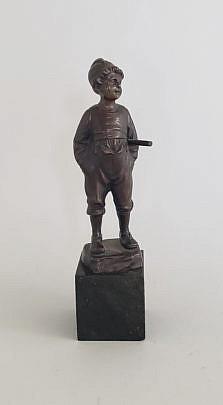 29269 Bronze Boy Figure A