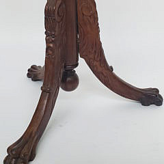 19th Century Carved Wooden Figural Coat Rack