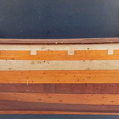 """Contemporary Half Hull Model """"Ship Argonaut"""""""