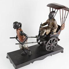 41136 Bronze Rickshaw Sculpture A_MG_7822