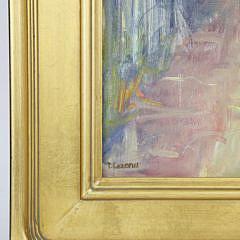 "David Lazarus Oil on Canvas Titled ""Lane"""