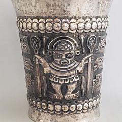 51-4135 Inka Silver Vase A