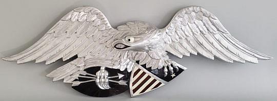 8-4612 Louisburg Eagle Plaque A