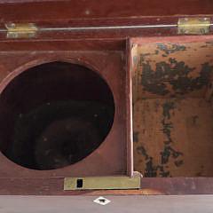 19th Century Mahogany Single Compartment Tea Caddy