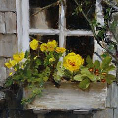 """Kathy Anderson Oil on Canvas """"April in Siasconset"""""""