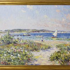 1-4938 Jan Pawlowski Oil Inner Harbor Nantucket A_MG_8689