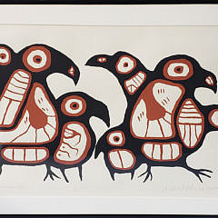 10-4562 Inuit Lithograph A