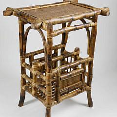 12-4941 Bamboo Rattan Book Table A_MG_9325
