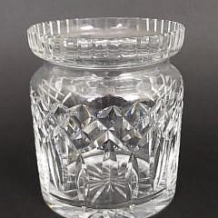 Vintage Waterford Clear Crystal Ice Bucket