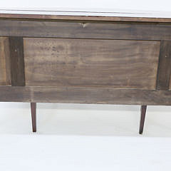 Pennsylvania Centennial Inlaid Bow Front Sideboard