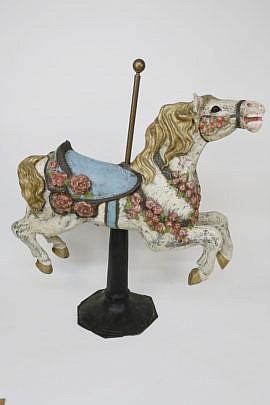1583-54 Papier Mache Chanticleer Horse A_MG_8763