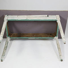 Charlie Munro Folk Art Nantucket Painted Side Table