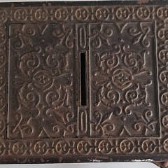 19th Century Cast Iron Safe Still Bank