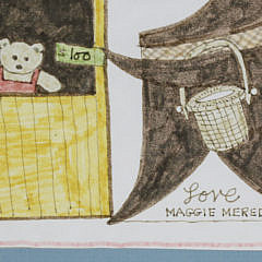 """Maggie Meredith Mixed Media Watercolor """"Help Our Small Friends"""""""