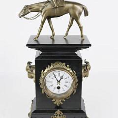 2-4646 Jockey Mantel Clock A_MG_9061