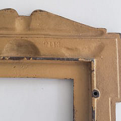 Antique United States Military Souvenir Picture Frame