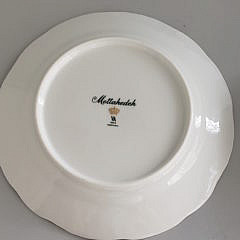 Set of 8 Mottahedeh Luncheon Plates