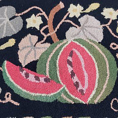 Claire Murray Watermelon Hooked Rug