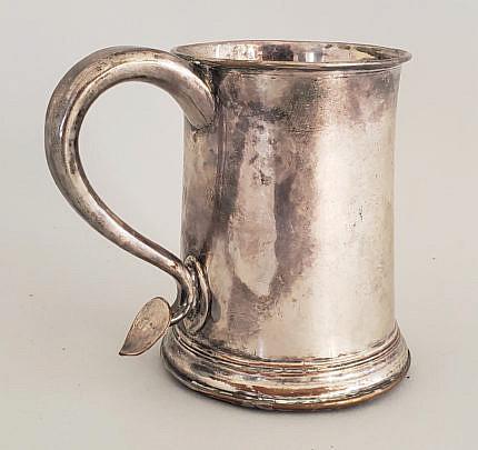29-3482 Silver Plated Mug A