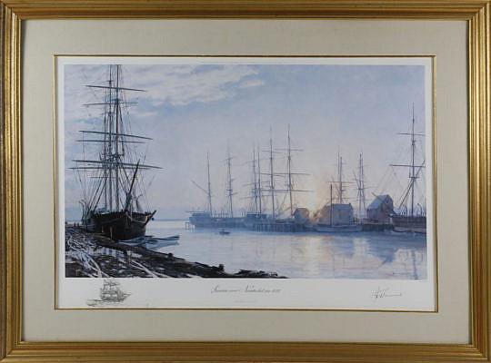 29-4941 John Stobart Sunrise Over Nantucket 1835 B_MG_9350