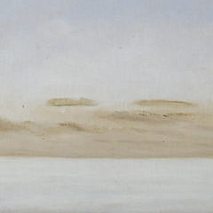 """Richard Beer Scarce Oil on Board """"Tranquil Dunes"""""""