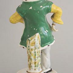 19th Century Staffordshire Turkish Figure