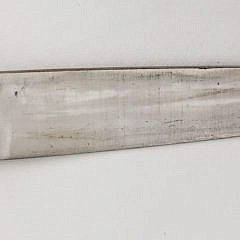Vintage Silver and Leather Gaucho Boot Knife Tandil Buenos Aires Argentina