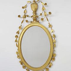 34-4900 Gilt Sheraton Style Mirror A_MG_8945