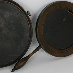 Set of Three 18th Century Hand Mirrors