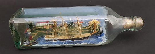 39-4199 Ship in Bottle A