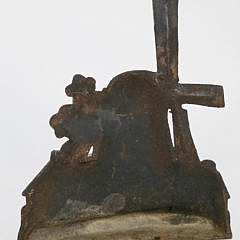 Cast Iron Windmill Doorstop, circa 1880-1890