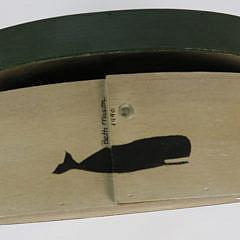 Beth Mason 1990 Nantucket Decorated Ditty Box