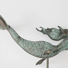 59-4810 Copper Mermaid Weathervane A_MG_8921