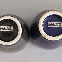 Boxed Set of Vintage 6 Japanese Sake Cups