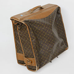 Louis Vuitton Monogram Garment Bag, MFG by The French Co. U.S.A.