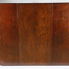 American Mahogany Drop Leaf Dining Table, circa 1840