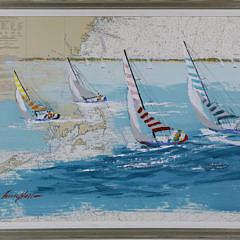 84-2917 Kerry Hallam Acrylic on Chart Long Island A_MG_9047
