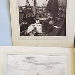 10 James Francis Barker Vintage Black and White Photographs of Nantucket
