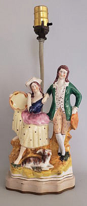 98-4133 Staffordshire Couple A